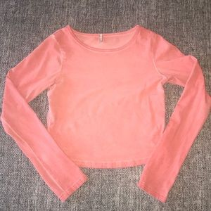 BKE core Long sleeve crop.